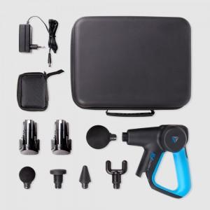 Sacoche de transport contenant pistolet de massage et accesoires
